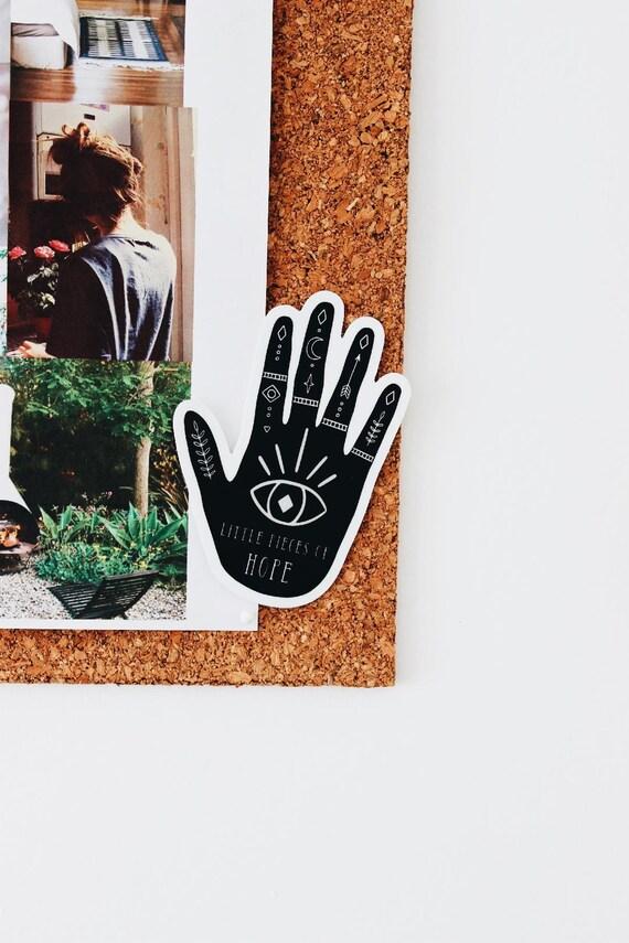 Bohemian Hand Bumper Sticker