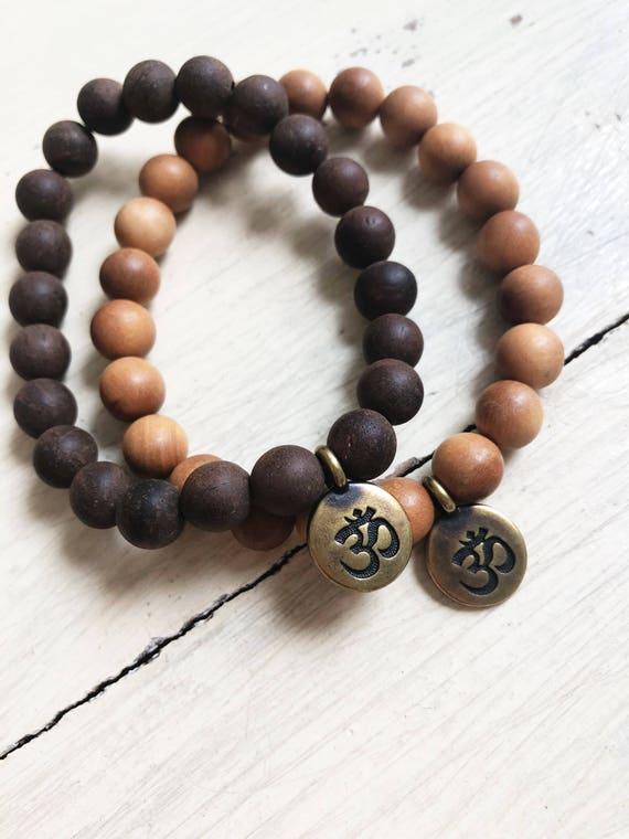 Mala Bracelet - OM charm