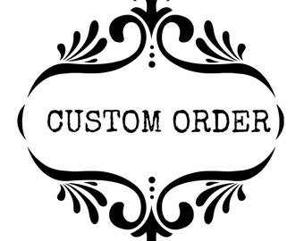 Custom listing for Tracie