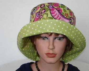 Rain Hat, Women Bucket Hat, waterproof