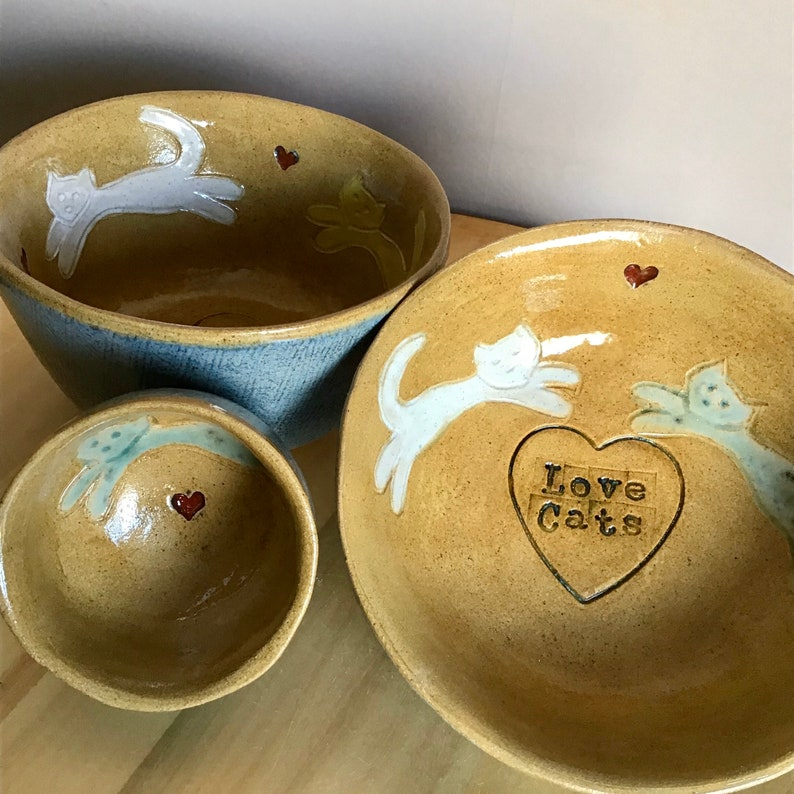 Love cats bowls image 0