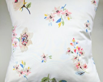 Cushion Cover in Cath Kidston Scattered Pressed Flowers 16""