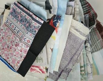 Fabric Scraps Remnants Offcuts Bag 100g 500g 1700g