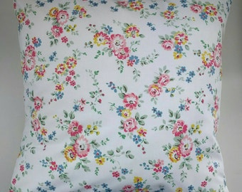 Cushion Cover in Cath Kidston Bleached Flowers  16""