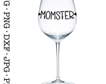 Momster Halloween SVG File