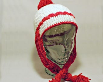 Miss Clause Hat - Crochet Hat PATTERN PDF ONLY