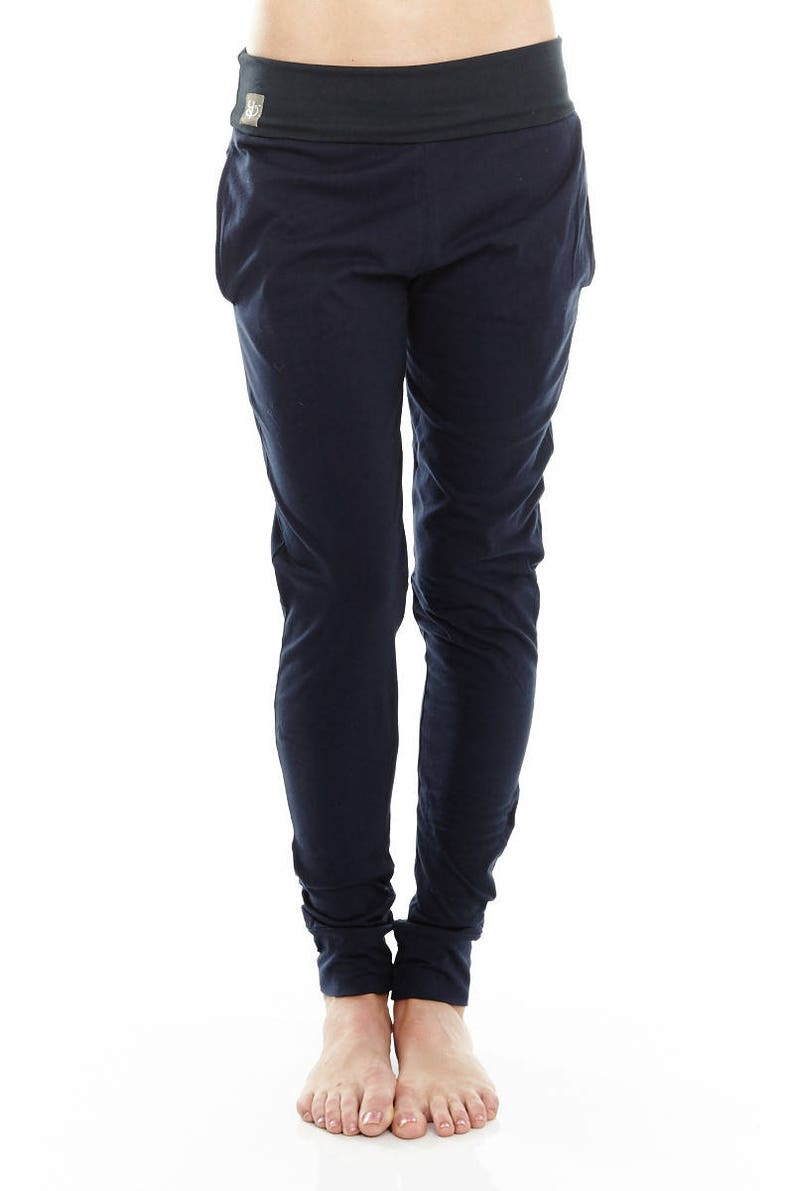 94f6da3c2d14e Womens Yoga Pants Drop Crotch Pants 'Mudra' | Etsy