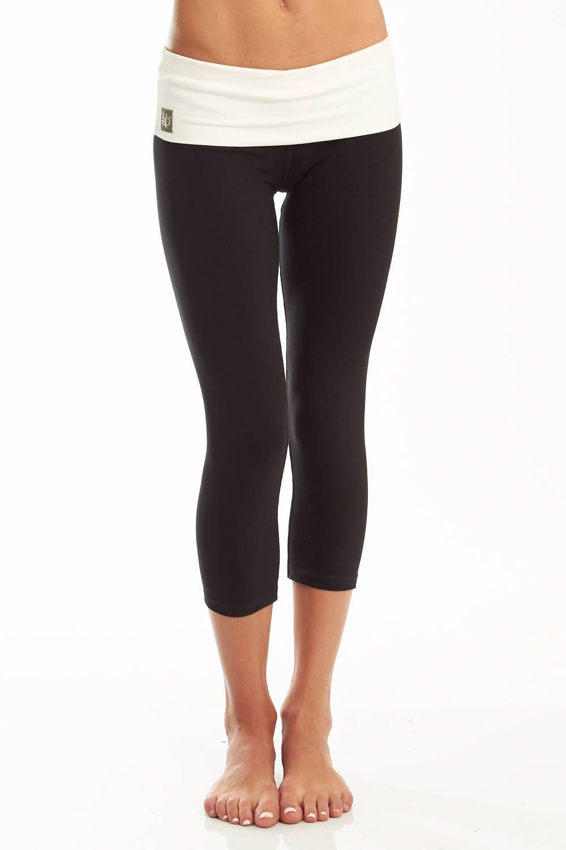 Womens Yoga Pants Cotton Capri Nava Yoga Pants Etsy