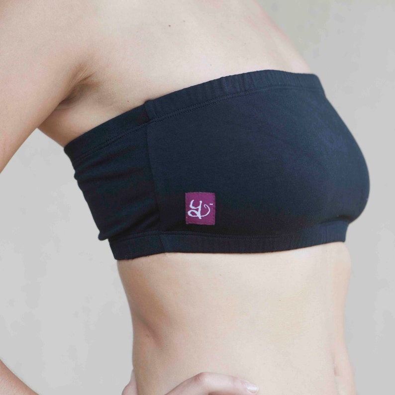 8c0e09262b Strapless Yoga Bra Bandeau Top Womens Yoga Clothes