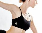 Yoga Bra - Basic, Cotton Yoga Bra - 'Ekam' Yoga Bra - Sports Bra - Yoga Wear - Dance Wear