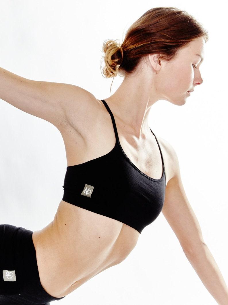 Yoga Bra  Basic Cotton Yoga Bra  'Ekam' Yoga Bra  image 0