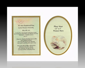 Personalized Baptism Christening Gift bible verse