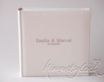 Wedding album XL Uni creme champagne