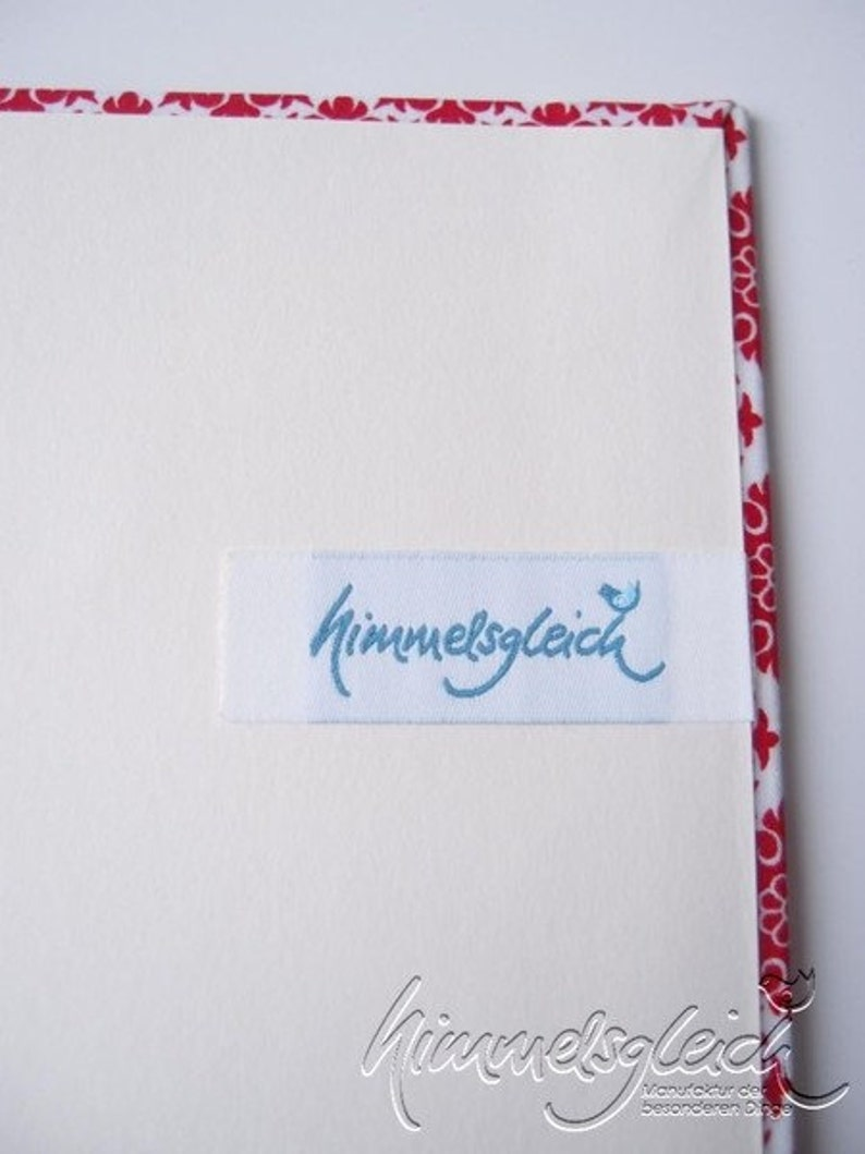 Wedding Guestbook ornaments red