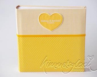 Wedding album XL yellow