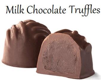 Truffles, Milk Chocolate Truffles