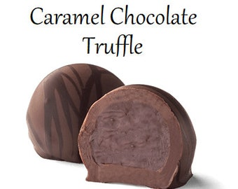 Truffles, Caramel Chocolate Truffle