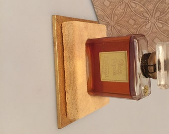 Vintage French Perfume Bottle PLACE PIGALLE by Dinard Made in France 1/2 Fl. Oz Old Fragrance  Dinard PARFUM  Movie Prop Commercial Perfume