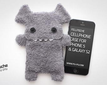 Fellfische Cellphone Case - Anthracite - Various Sizes