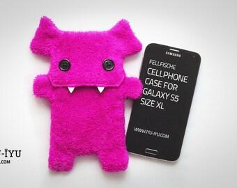 Fellfische Cellphone Case - Pink - Various Sizes