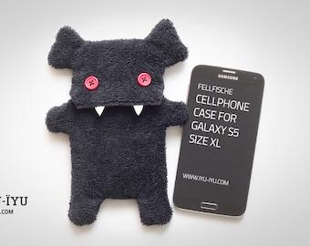 Fellfische Cellphone Case - Vampire Black - LIMITED EDITION - Various Sizes