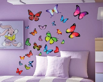 Giant Removable Children/'s Bedroom Decor Re-positional Wall Graphics Fathead Cats Assorted Large Wall Decals