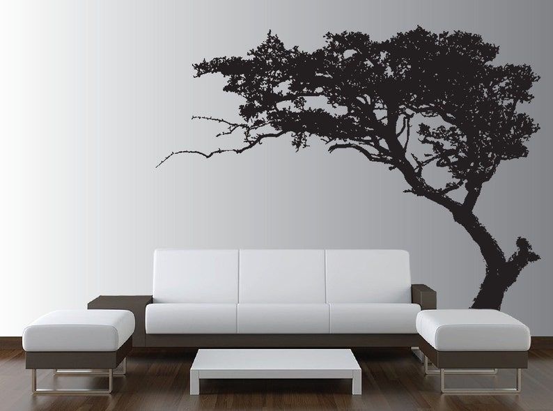 3ea7f56558 Large Wall Tree Decal Forest Decor Vinyl Sticker Highly | Etsy