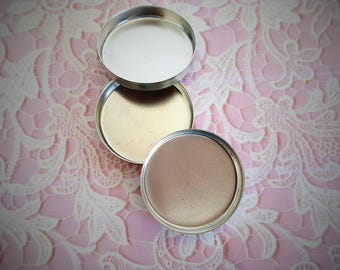 Ready to Fill Solid Perfume Locket Refill Pans,  (3 pc)  Item: B1952 (egg locket only)