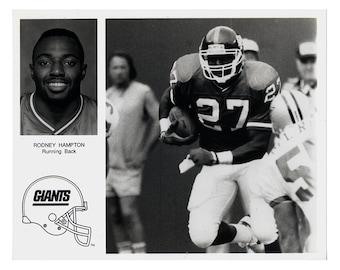 NY Giants-Rodney Hampton Press Photo
