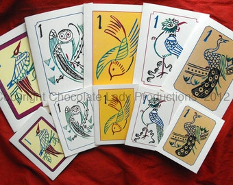 Mah Jongg Bird/One Bamboo Mini Note/Gift Cards