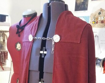 MADE to ORDER Star Wars Count Dooku cloak replica, mantle, cape, Star Wars Empire cosplay