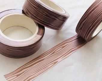 Wood Grain Washi Tape