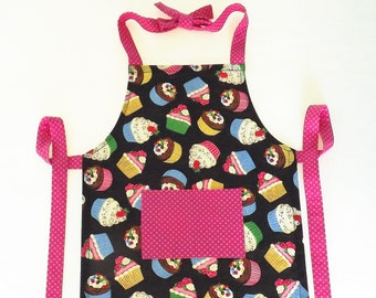 Girl's Cup Cake Apron