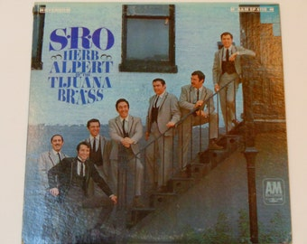 """Herb Alpert and the Tijuana Brass - S.R.O. - """"Our Day Will Come"""" - Latin Jazz - Mariachi - A&M Records 1966 - Vintage Vinyl Lp Record Album"""