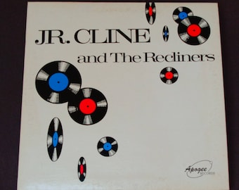 """J.R. Cline and the Recliners - """"Young Girls""""  """"I'll Come Running Back to You"""" - R&B - Funk - Soul - Apogee 1985 - Vintage Vinyl LP Record"""