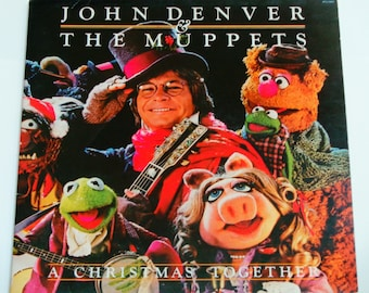 John Denver Coat Muppets Christmas.Muppets Record Album Etsy