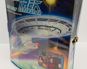 Star Trek The Next Generation Tara Toys Action Figure Collectors Case