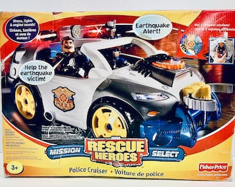 Rescue Heroes Mission Select Police Cruiser