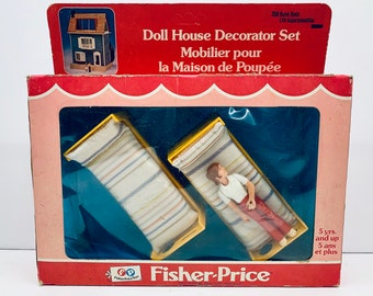 Doll House Decorator Set, 259 Bunk Beds