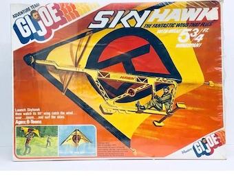 Rare Sealed 1975 GI JOE Sky Hawk,  The Fantastic Wing That Flies Hasbro, Antique Alchemy