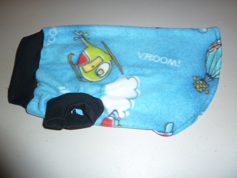 Vroom Winter Shirts Techno Nerd S M Patterns Include: Smurfs L  Whimsical Fleece T-Shirts XS Doggy Jackets
