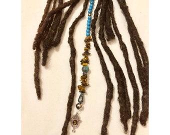 Dangle Bead Loc Jewelry Dreadlock #7