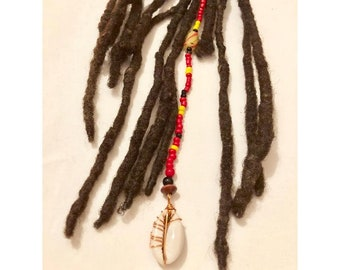 Dangle Bead Loc Jewelry Dreadlock #6