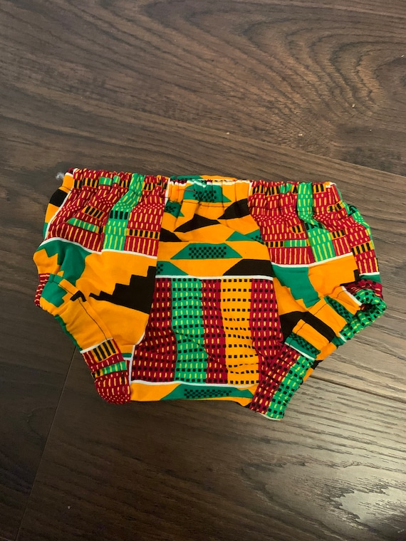 Baby Ankara African Print Diaper Covers Bloomers  // Baby Toddler Dashiki Ankara Fabric // SAMPLE SALE RTS // 0-3m 3-6m 6-12m