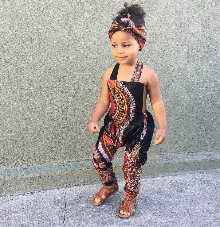Afrikanische Ankara Dashiki Druck Overall Outfit Baby   Etsy