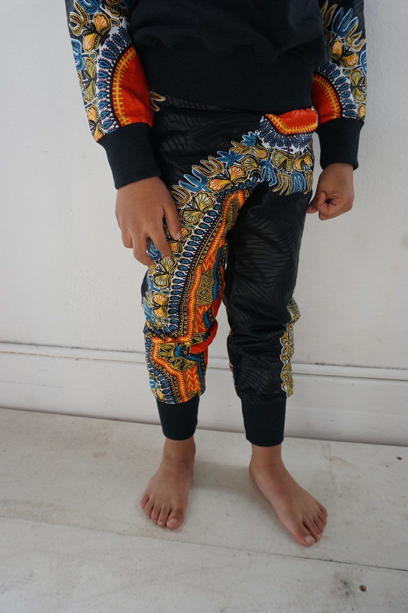 African Ankara Dashiki Print Toddler Kids Baby Boy Harem image 0