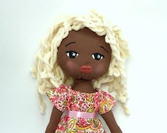 OOAK Sparkle Starlet Doll - Brandy