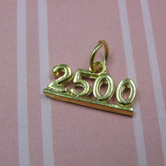 6 Number 70 Charms number seventy chs2043 Silver Plated Pendants