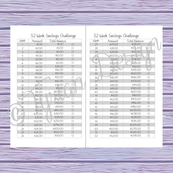 budget book for a6 traveler s notebook printable yearly monthly