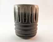 Grey and Grooves tumbler...